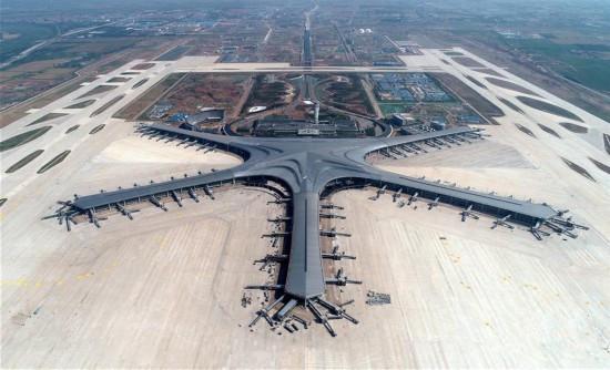 青岛胶东国际机场建设进入全面冲刺阶段