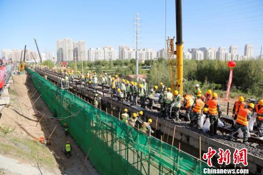 旧貌换新颜 全国最大规模铁路既有线换梁施工完成