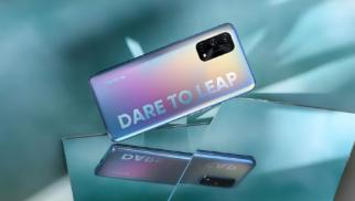realme X7智能手机搭载联发科天玑1000+旗舰处理器 史上最轻