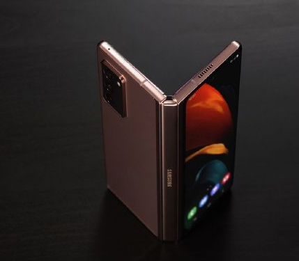 三星折叠手机新系列 三星Galaxy Z Fold S可360度旋转铰链