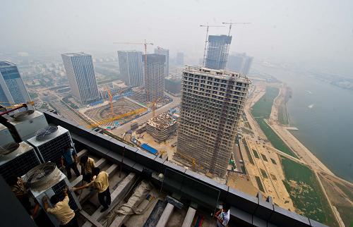 """天津滨海新区""""十大战役""""建设如火如荼 总投资1.5万亿元"""